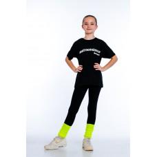"""Футболка для девочек """"Ballroomdancer"""" black"""
