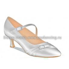 1. Танцмастер 0133dR Туфли женские  для европейской программы