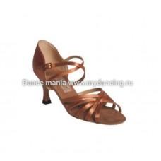 1. Танцмастер 1410 Туфли женские  для латиноамериканской программы