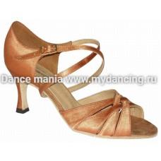 1. Танцмастер 2001 Туфли женские  для латиноамериканской программы