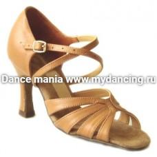 1. Танцмастер 1412 Туфли женские  для латиноамериканской программы