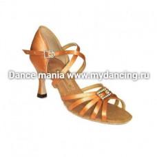 1. Танцмастер 1414 Туфли женские  для латиноамериканской программы