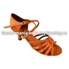1. Танцмастер 1415 Туфли женские  для латиноамериканской программы