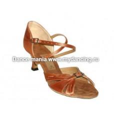 1. Танцмастер 164  Туфли женские  для латиноамериканской программы