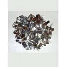 Помпон одиночный серебро