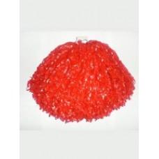 Помпон пластиковый красный