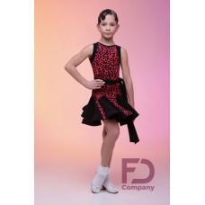 Платье 694\1 лео розовый FD