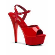 Туфли DEL 609 Red (под заказ)
