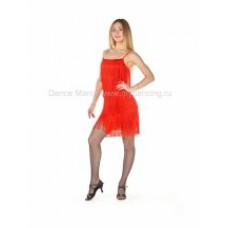 Платье Бахрома Red