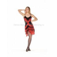Платье Бахрома Mix2