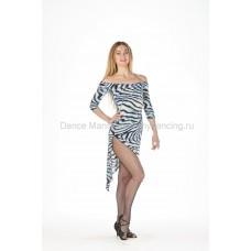 Платье для латины 3\4 рукав